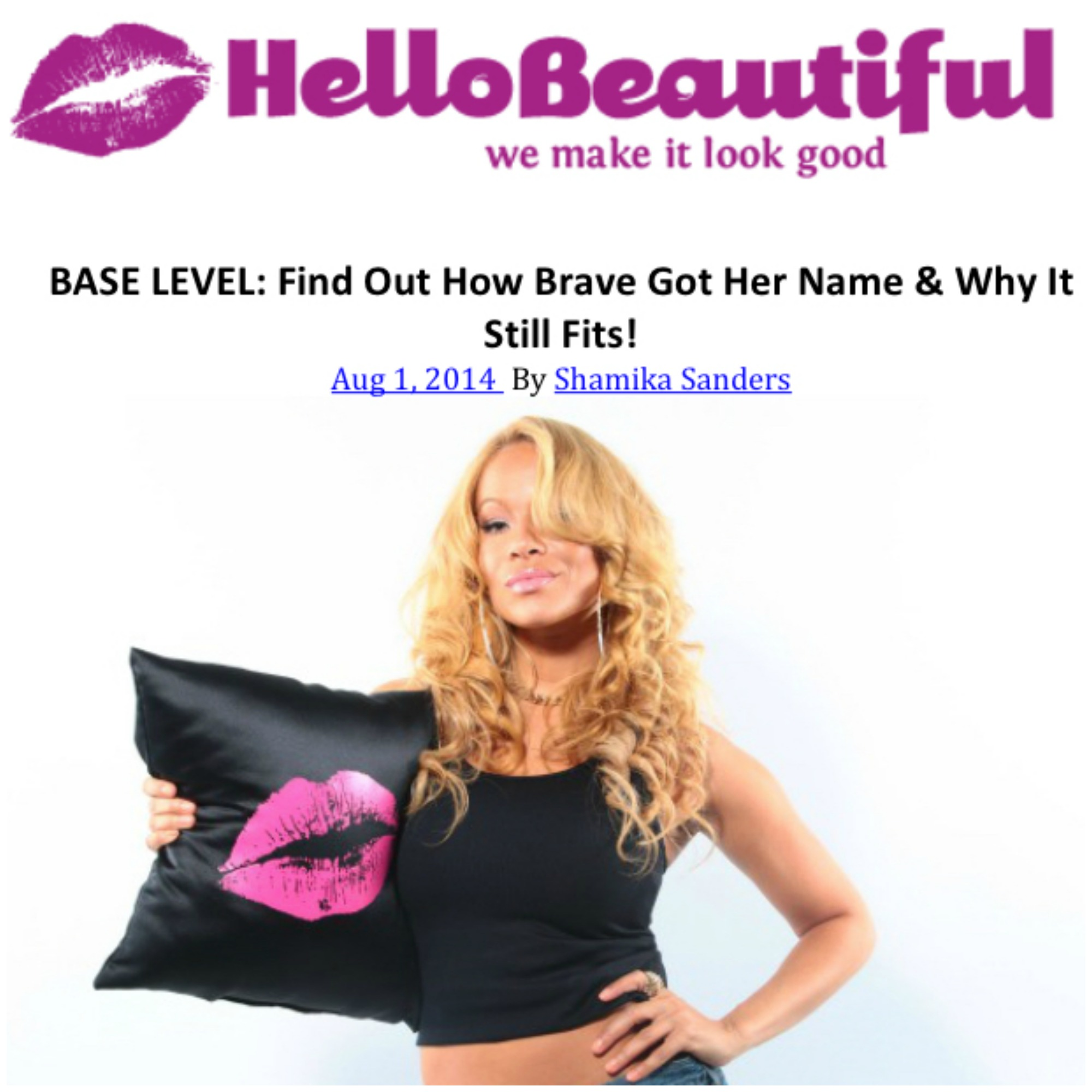 BASE LEVEL: Find Out How Brave Got Her Name & Why It Still Fits!